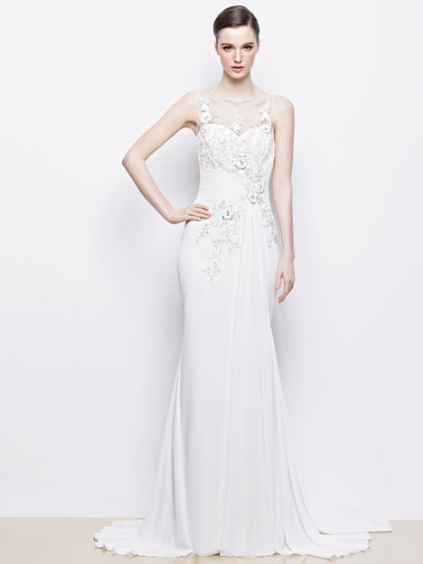 Isabelle gown from the 2014 Enzoani collection, as seen on dressfinder.ca
