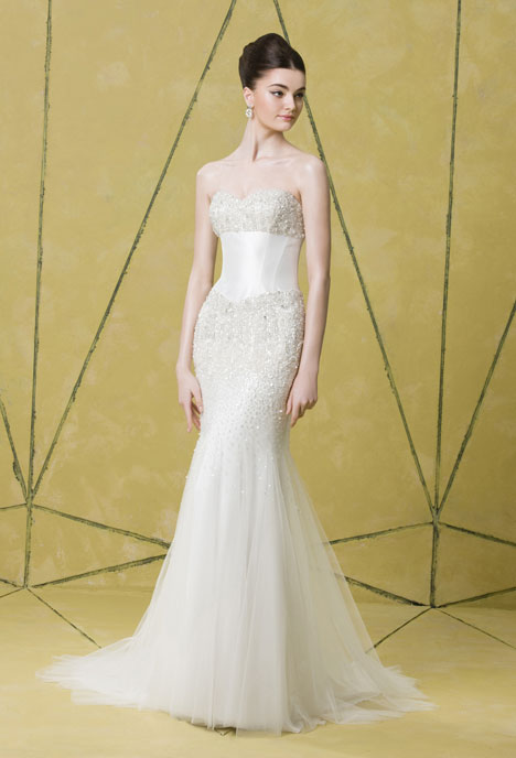Veronica Wedding                                          dress by Badgley Mischka Collection