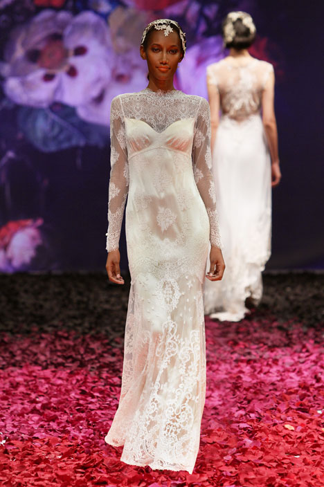 Adeline Wedding                                          dress by Claire Pettibone: Romantique