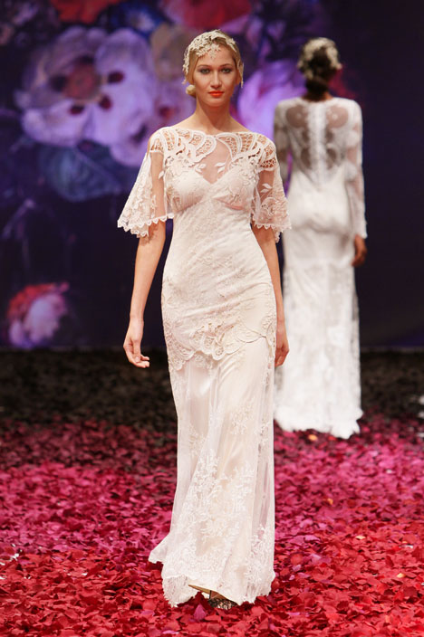 Amaryllis Wedding                                          dress by Claire Pettibone : Romantique
