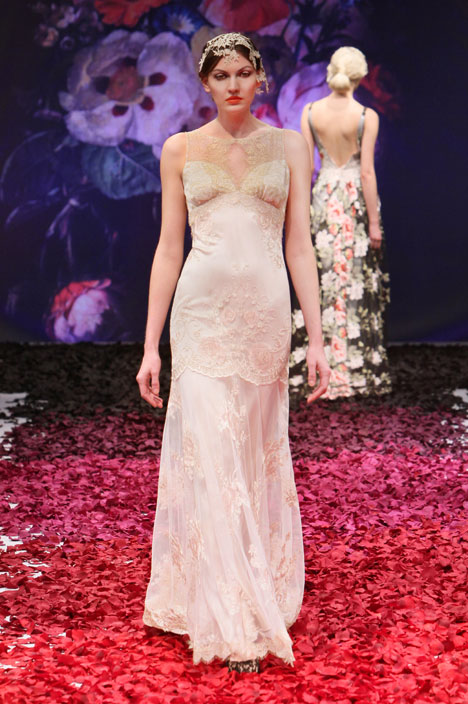 Ambrosia gown from the 2014 Claire Pettibone: Romantique collection, as seen on dressfinder.ca
