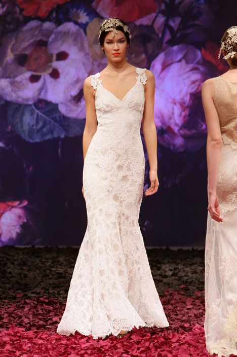 Belladonna Wedding                                          dress by Claire Pettibone: Romantique