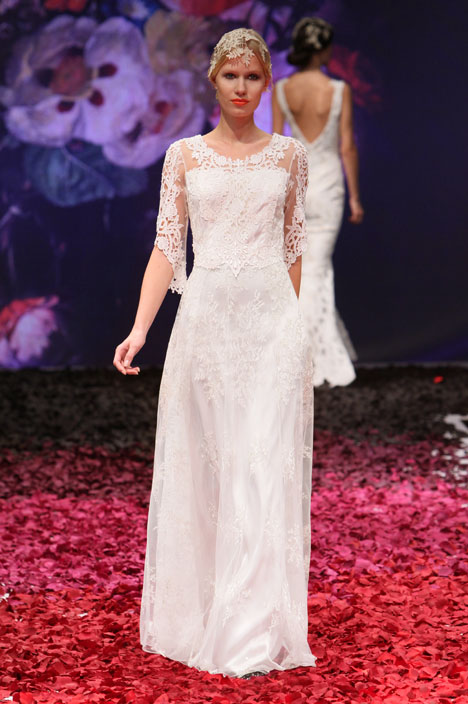 Julia Wedding                                          dress by Claire Pettibone: Romantique