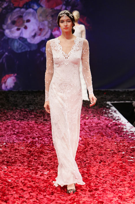 Lily Wedding                                          dress by Claire Pettibone : Romantique