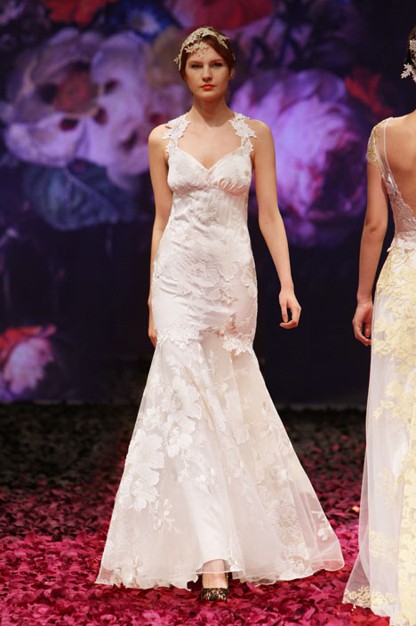 Mariposa gown from the 2014 Claire Pettibone: Romantique collection, as seen on dressfinder.ca