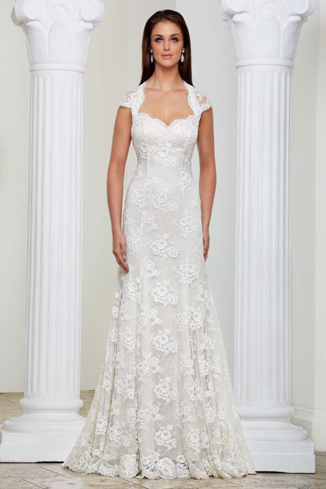 Infinity Wedding dress by Caroline Castigliano