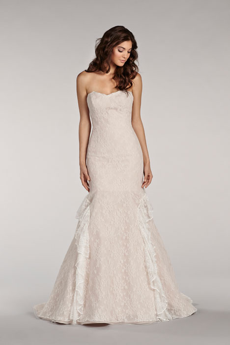 Aspen gown from the 2014 Blush by Hayley Paige collection, as seen on dressfinder.ca