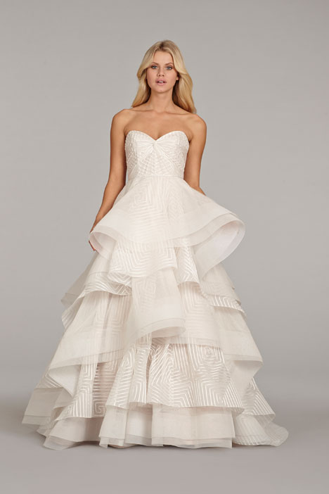 Lana (6400) gown from the 2014 Hayley Paige collection, as seen on dressfinder.ca