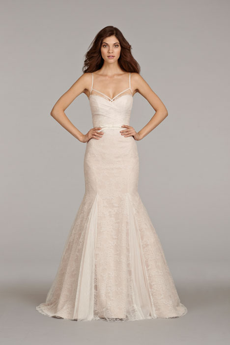 Lourdes (6404) gown from the 2014 Hayley Paige collection, as seen on dressfinder.ca