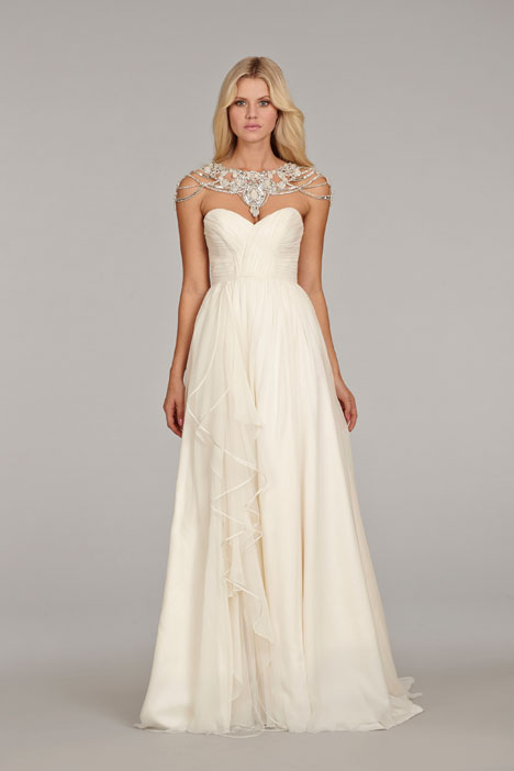Paloma (6409) gown from the 2014 Hayley Paige collection, as seen on dressfinder.ca