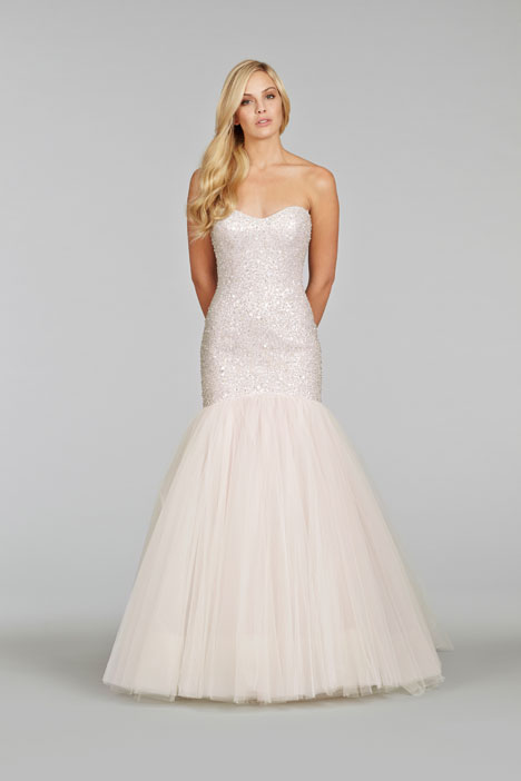 8416 Wedding                                          dress by Jim Hjelm
