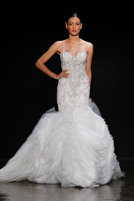 Style 3400 gown from the 2014 Lazaro collection, as seen on dressfinder.ca