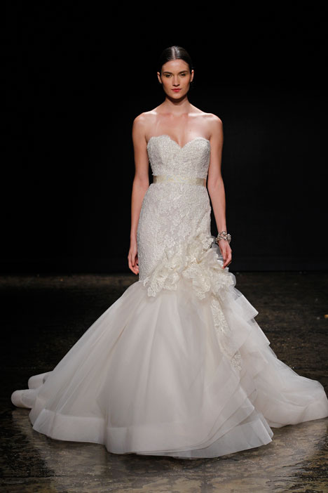 3415 Wedding                                          dress by Lazaro