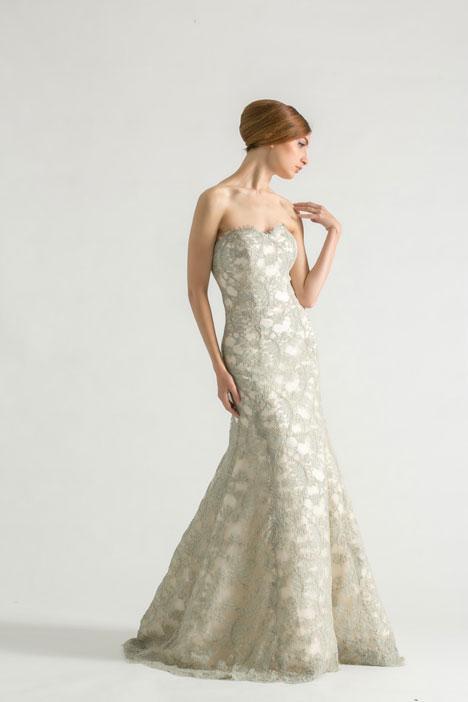 Emerald Wedding                                          dress by Sareh Nouri