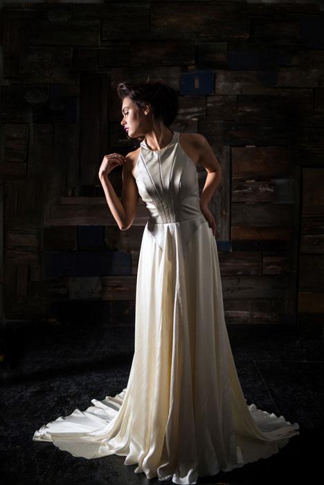 Aleister Wedding                                          dress by Carol Hannah