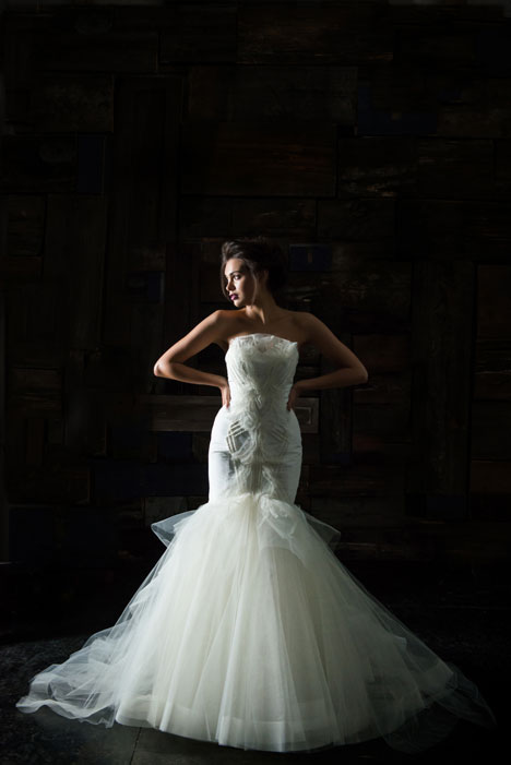 Fortuna Wedding                                          dress by Carol Hannah