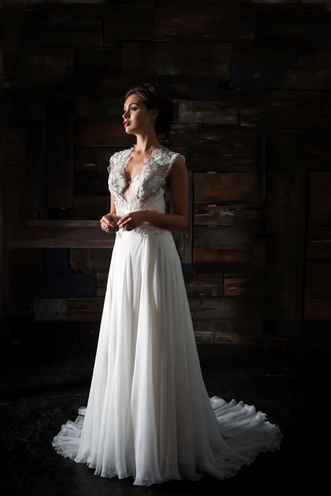 Le Soleil Wedding                                          dress by Carol Hannah