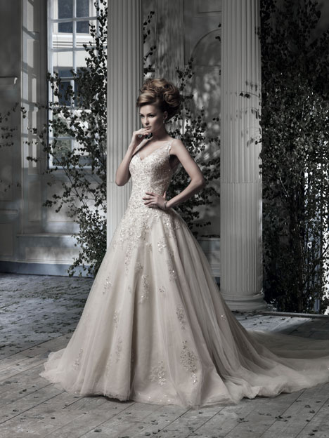 Everdina Wedding                                          dress by Ian Stuart
