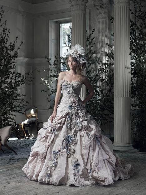Gainsborough Wedding                                          dress by Ian Stuart