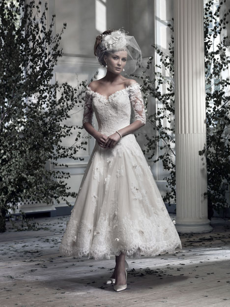 Sophia Wedding                                          dress by Ian Stuart