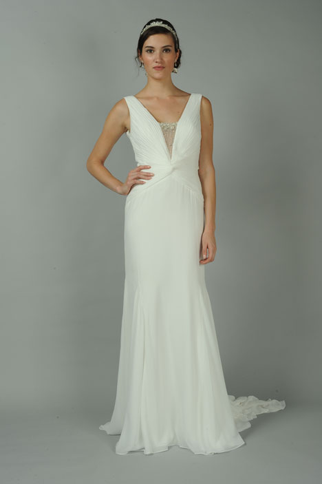 Esmerelda gown from the 2014 Blue Willow by Anne Barge collection, as seen on dressfinder.ca