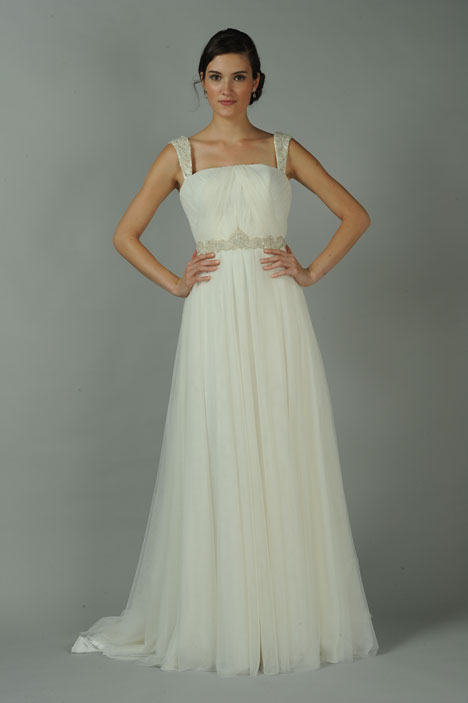 Jade gown from the 2014 Blue Willow by Anne Barge collection, as seen on dressfinder.ca