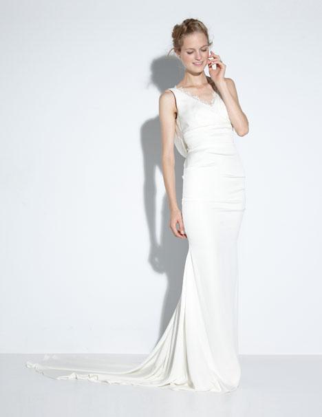 Nina Wedding                                          dress by Nicole Miller
