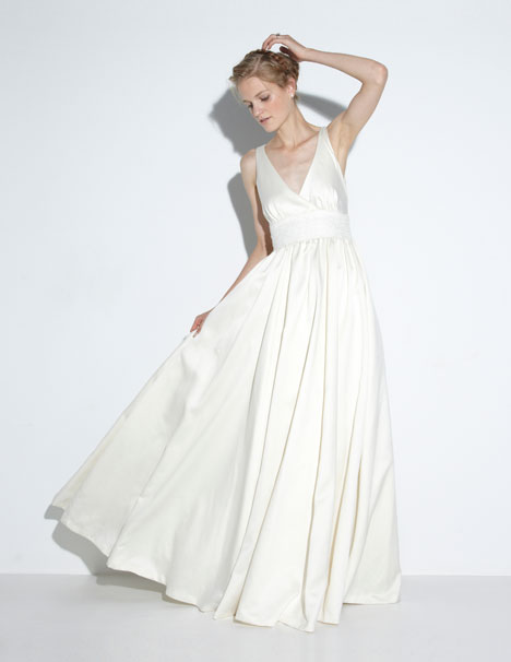 Elena Wedding                                          dress by Nicole Miller