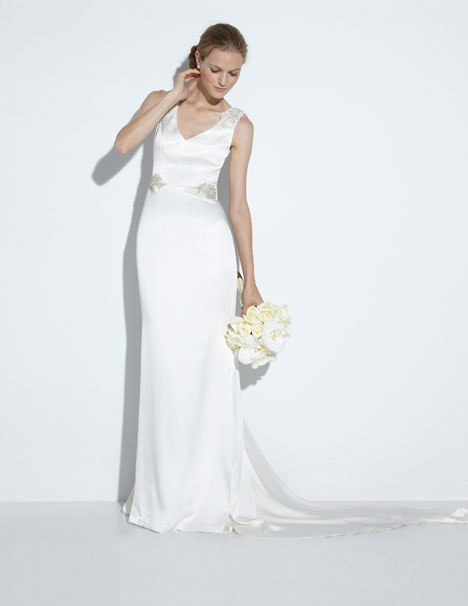 Alexandra Wedding                                          dress by Nicole Miller