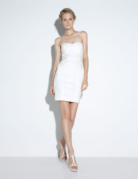 Quinn Wedding                                          dress by Nicole Miller