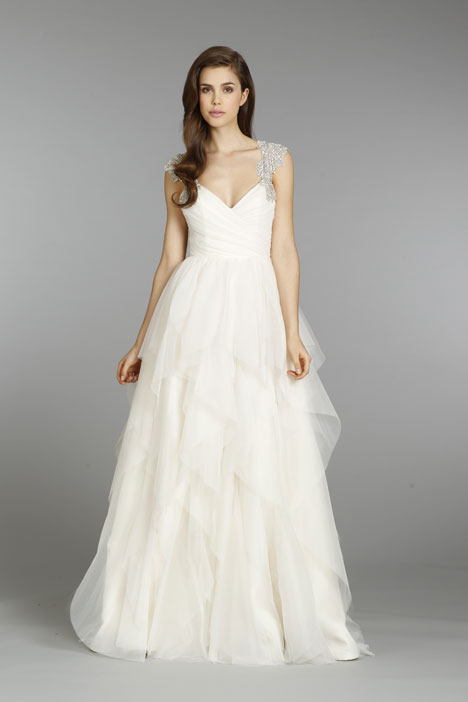 Style 6350, Carrie gown from the 2013 Hayley Paige collection, as seen on dressfinder.ca