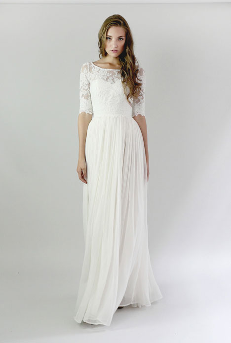 Heloise Top Wedding dress by Leanne Marshall