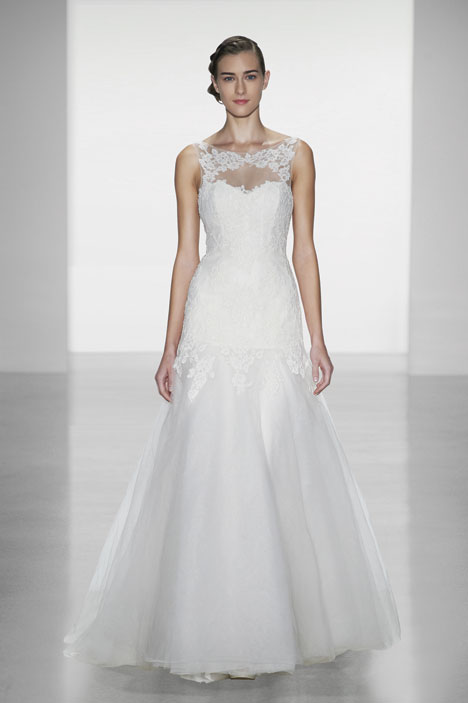 Carissa Wedding                                          dress by Christos