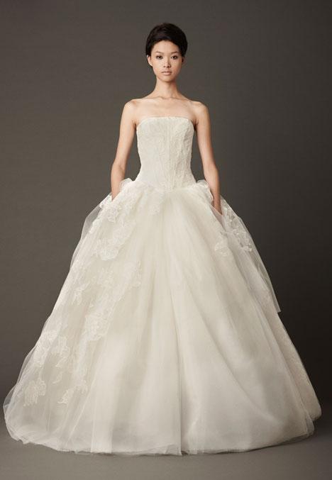 Lisbeth Wedding                                          dress by Vera Wang