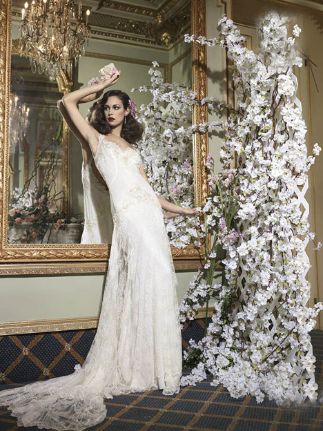 Natal gown from the 2014 YolanCris collection, as seen on dressfinder.ca