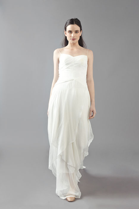 Fluttering Hearts Wedding                                          dress by Ivy & Aster