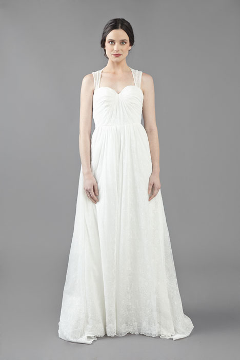 Some Kind of Wonderful Wedding                                          dress by Ivy & Aster