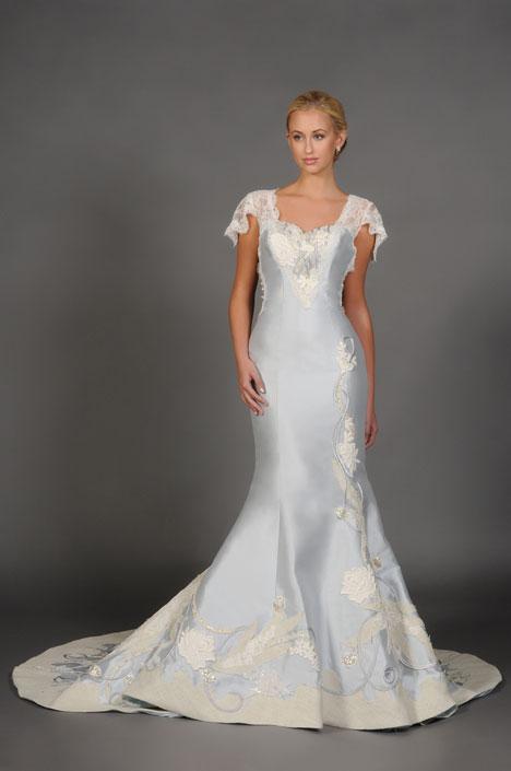 Appolonia Wedding                                          dress by Barbara Kavchok