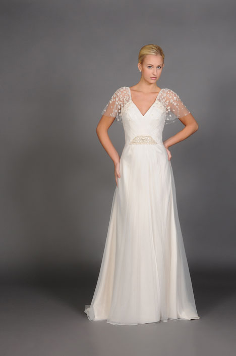 Callista Wedding                                          dress by Barbara Kavchok