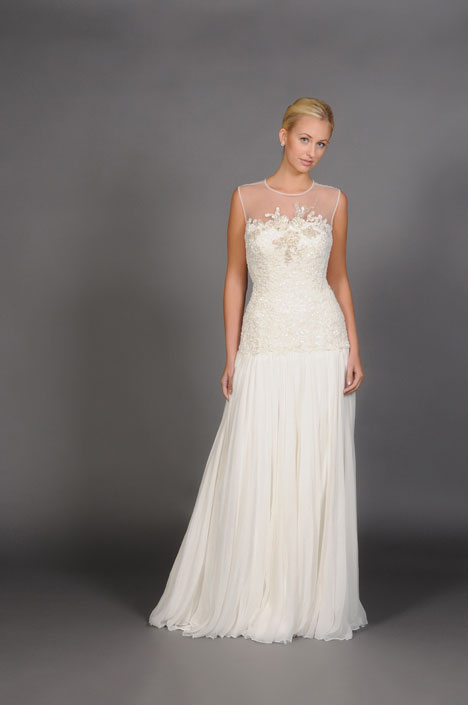 Cassandra gown from the 2014 Barbara Kavchok collection, as seen on dressfinder.ca