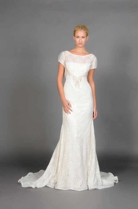 Cecilia gown from the 2014 Barbara Kavchok collection, as seen on dressfinder.ca