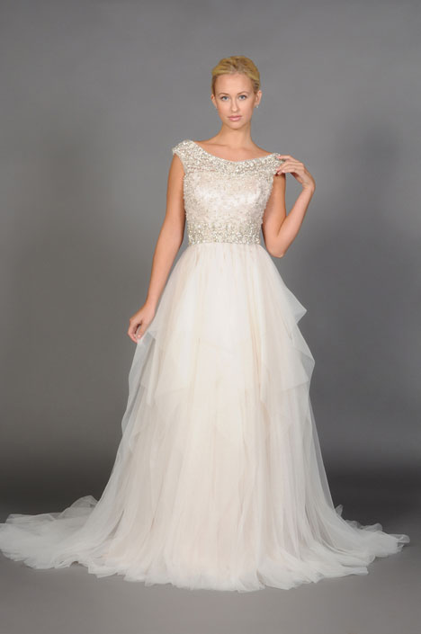 Marcella gown from the 2014 Barbara Kavchok collection, as seen on dressfinder.ca