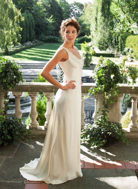 Charlize Wedding                                          dress by Lea-Ann Belter