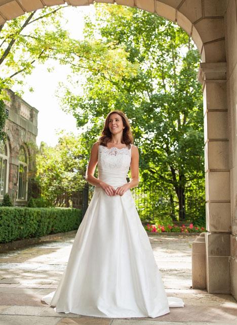 Emily Wedding                                          dress by Lea-Ann Belter