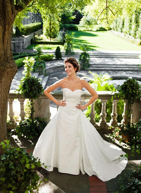 Farrah Wedding                                          dress by Lea-Ann Belter