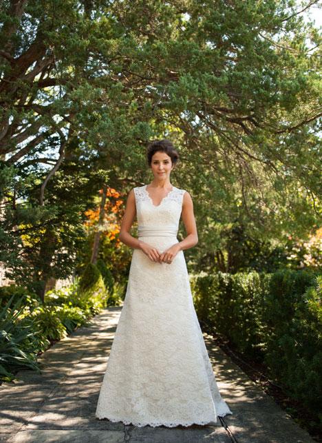 Janelle Wedding                                          dress by Lea-Ann Belter