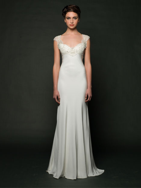 Deandra Wedding                                          dress by Sarah Janks