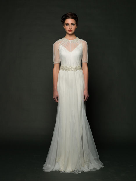Delphine Wedding                                          dress by Sarah Janks