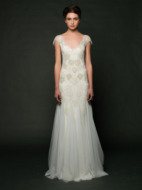 Dulce Wedding                                          dress by Sarah Janks