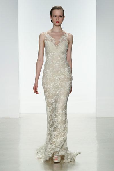 Nicole Wedding                                          dress by Amsale